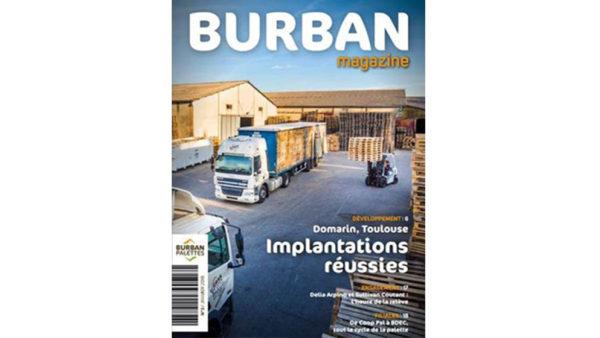 BURBAN PALETTES - 3e édition Burban Mag