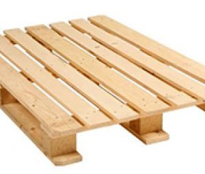 BURBAN PALETTES - Palette demi-lourde plancher débordant