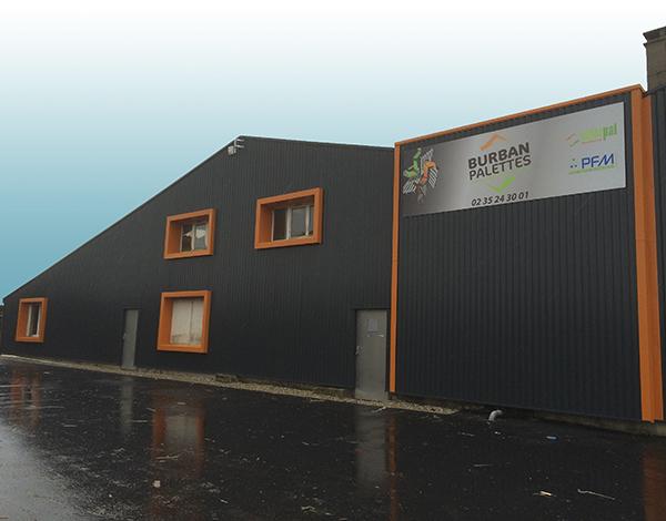BURBAN PALETTES - Agence Le Havre