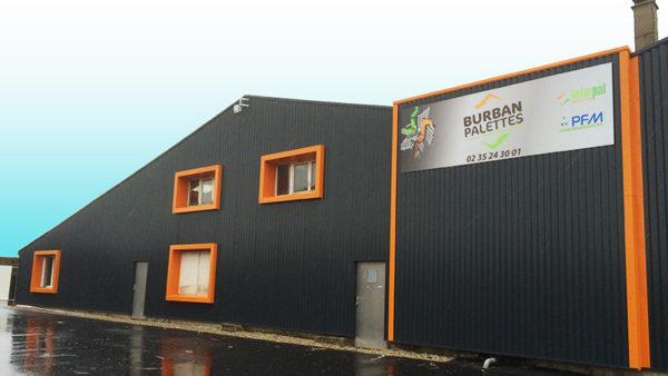 BURBAN PALETTES - Implantation le Havre